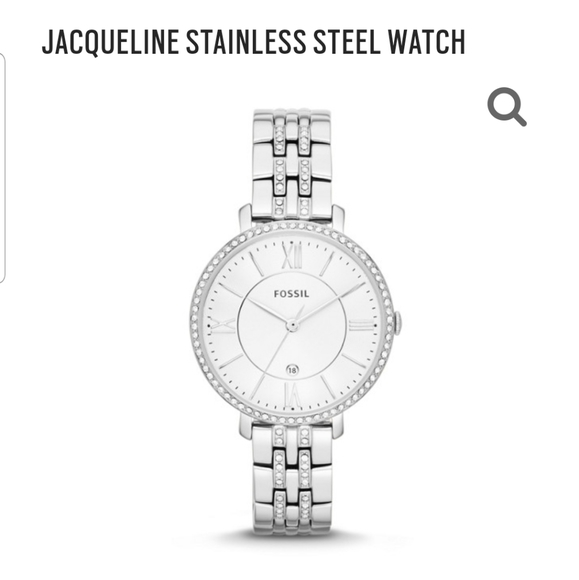 Fossil Accessories - JACQUELINE STAINLESS STEEL WATCH